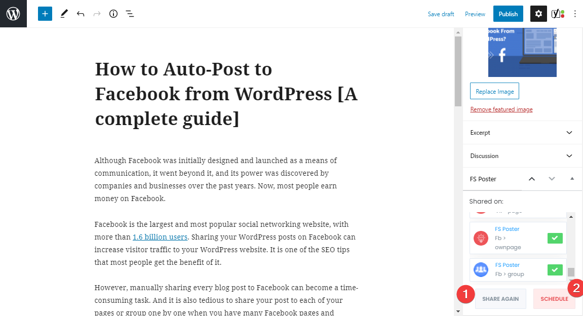 How To Auto-post To Facebook From WordPress