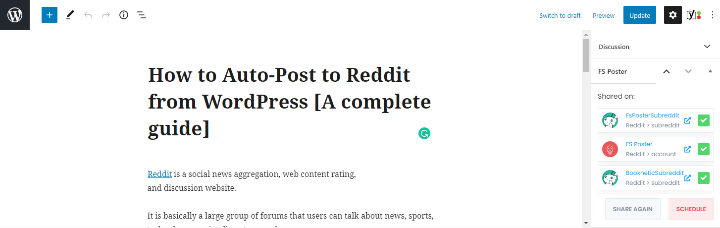 How to Auto-Post to Reddit from WordPress