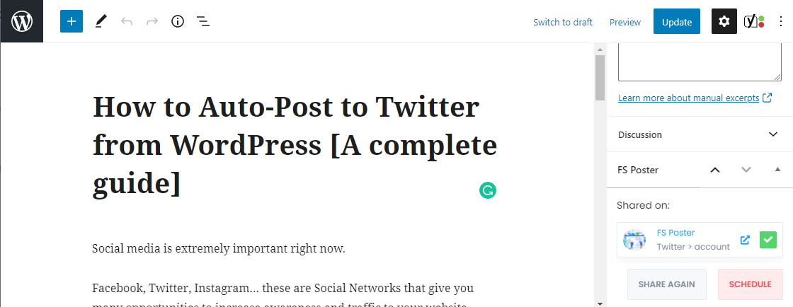 How to Auto-Post to Twitter from WordPress