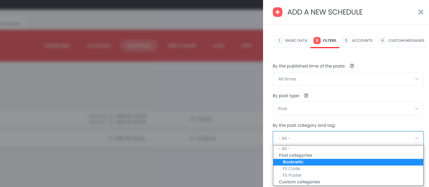 Social Auto-Poster WP Plugin with Filter Posts Feature