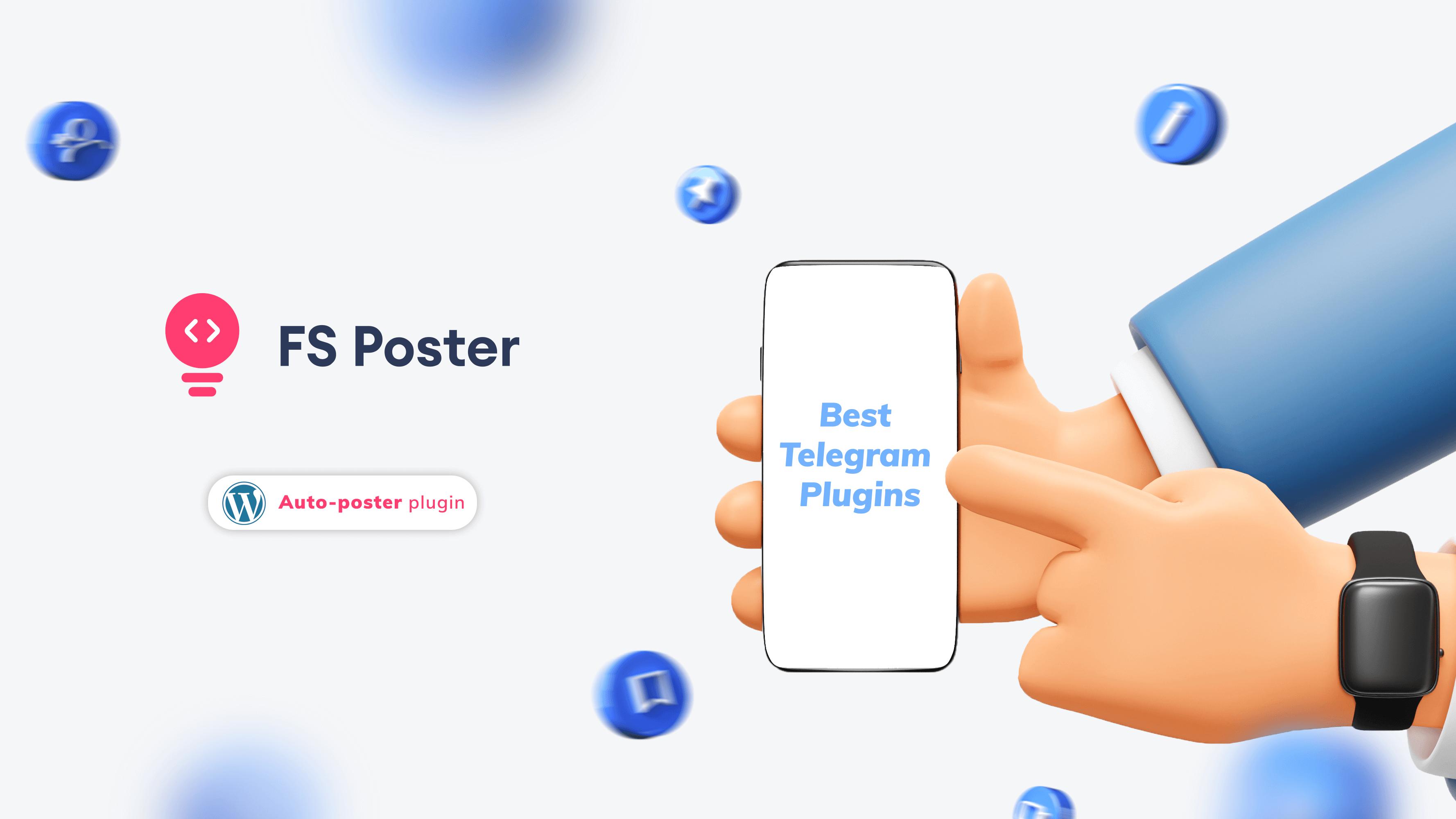 Top 6 best Telegram plugins for WordPress