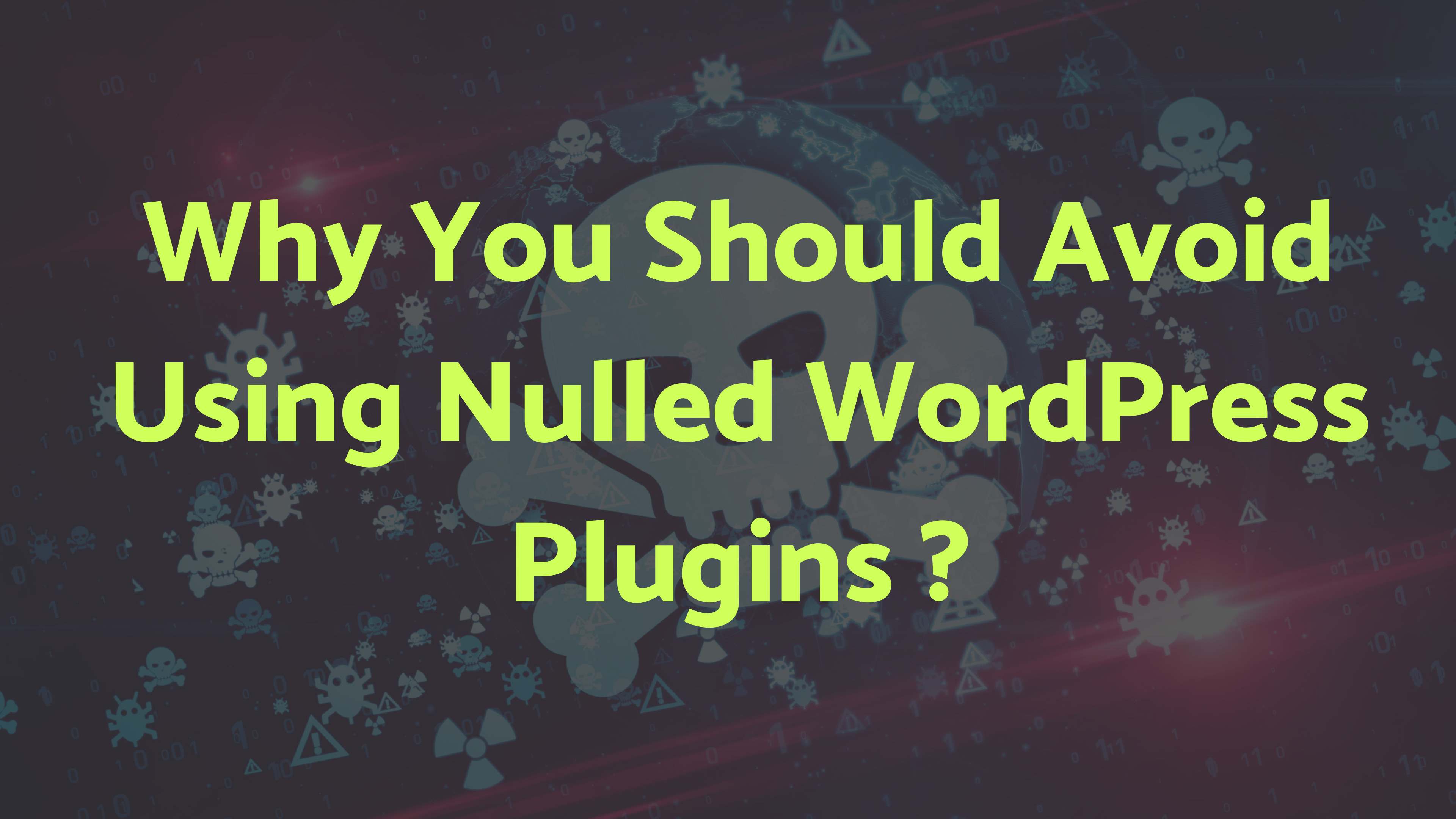 6 Reasons Why You Should Avoid Using FS Poster Nulled Version
