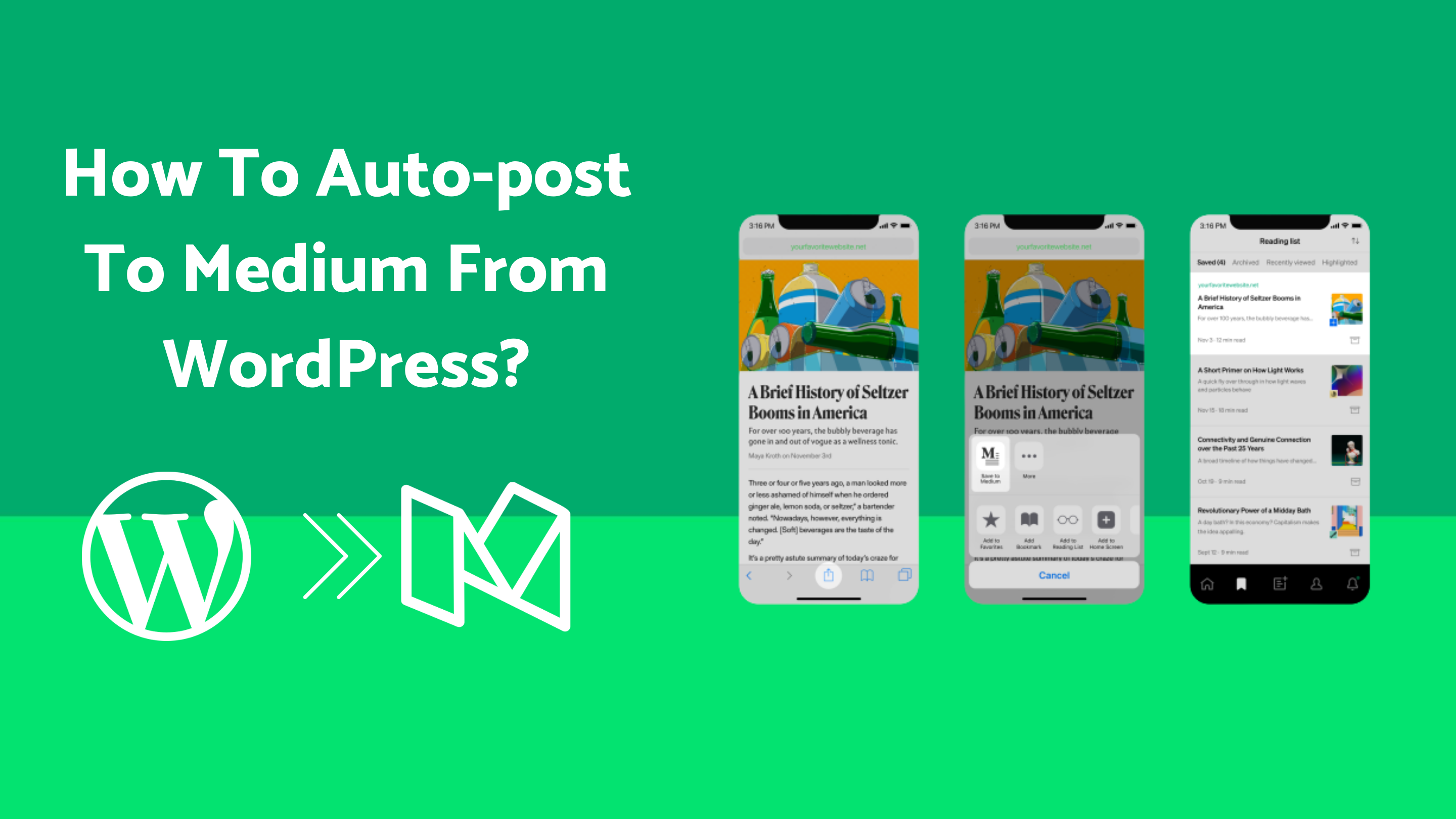 How To Auto-Post To Medium From WordPress [A Complete Guide]